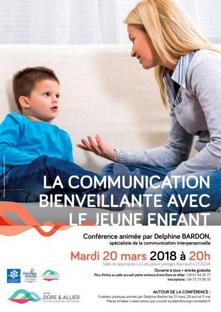 Petite enfance et communication bienveillante