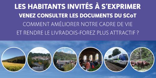 SCOT  Livradois-Forez : Les habitants invités à s'exprimer !