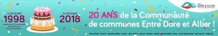 20 ans pour la communauté de communes Entre Dore et Allier