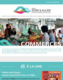 Newsletter Commerces - Octobre 2018