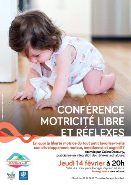 Conférence Motricité libre et réflexes