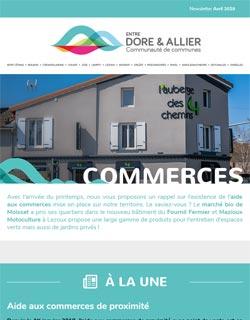 Newsletter Commerces - Avril 2019