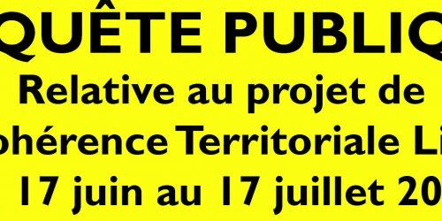 Enquête publique relative au projet de  Schéma de Cohérence Territoriale  Livradois-Forez