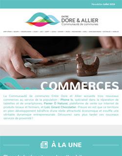 Newsletter Commerces - Juillet 2019