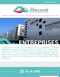 Newsletter Entreprises - Juillet 2019