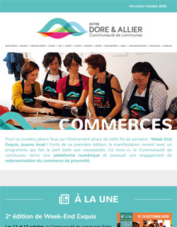 Newsletter Commerces - Octobre 2019