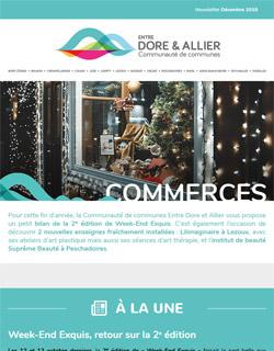 Newsletter Commerces - Décembre 2019