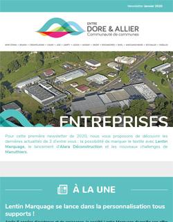 Newsletter Entreprises - Janvier 2020