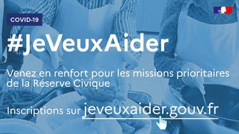 COVID 19  : #jeveuxaider