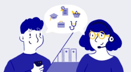 Un site et un numéro vert pour les personnes éloignées du numérique