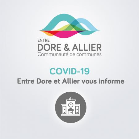 Couvre-feu : Fonctionnement des services intercommunaux