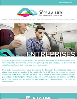 Newsletter Entreprises - Mai 2020