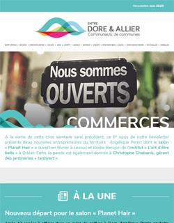 Newsletter Commerces - Juin 2020
