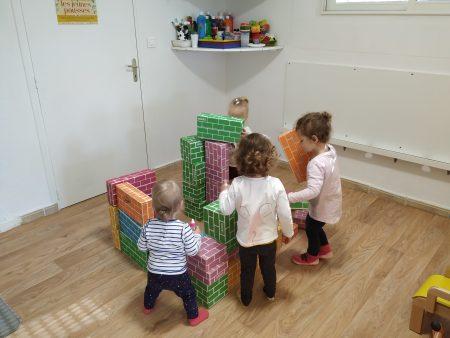 Des ateliers au  pôle accueil petite enfance