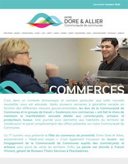 Newsletter Commerces - Octobre 2020