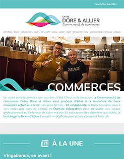 Newsletter Commerces - Juin 2021