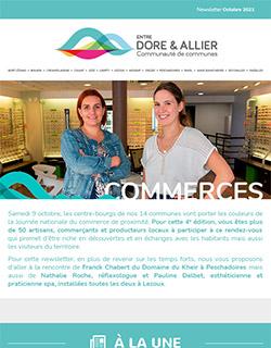 Newsletter Commerces - Octobre 2021